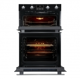 Belling Built In Electric Double Oven - Black - A Rated - 3