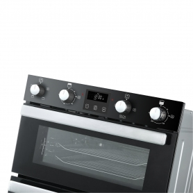Belling Built In Electric Double Oven - Black - A Rated - 2