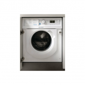 Indesit Integrated 1200 Spin 7kg/5kg Dry Washer Dryer - White - B Energy Rated