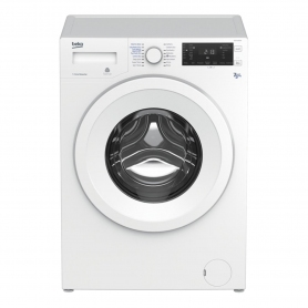 Beko 7kg / 5kg 1200 Spin Washer Dryer - 0
