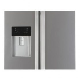 Blomberg Frost Free American Style Fridge Freezer - Stainless Steel - A+ Rated - 6