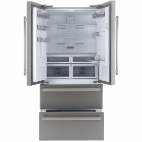 Blomberg Frost Free American Style Fridge Freezer - Stainless Steel - A+ Rated - 5