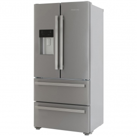 Blomberg Frost Free American Style Fridge Freezer - Stainless Steel - A+ Rated - 8