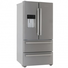 Blomberg Frost Free American Style Fridge Freezer - Stainless Steel - A+ Rated - 7