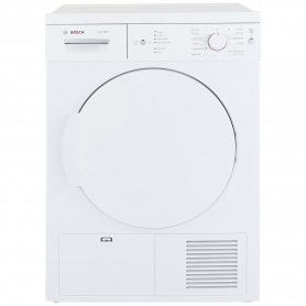 Bosch 7kg Condenser Tumble Dryer - White - B Rated - 0