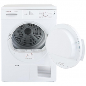 Bosch 7kg Condenser Tumble Dryer - White - B Rated - 1