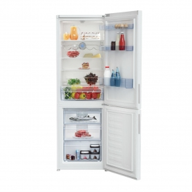 Beko 60cm Fridge Freezer - White - A+ Energy Rated - 2