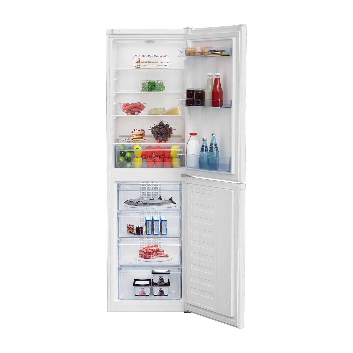 Beko Frost Free Fridge Freezer - White - A+ Energy Rated - 0