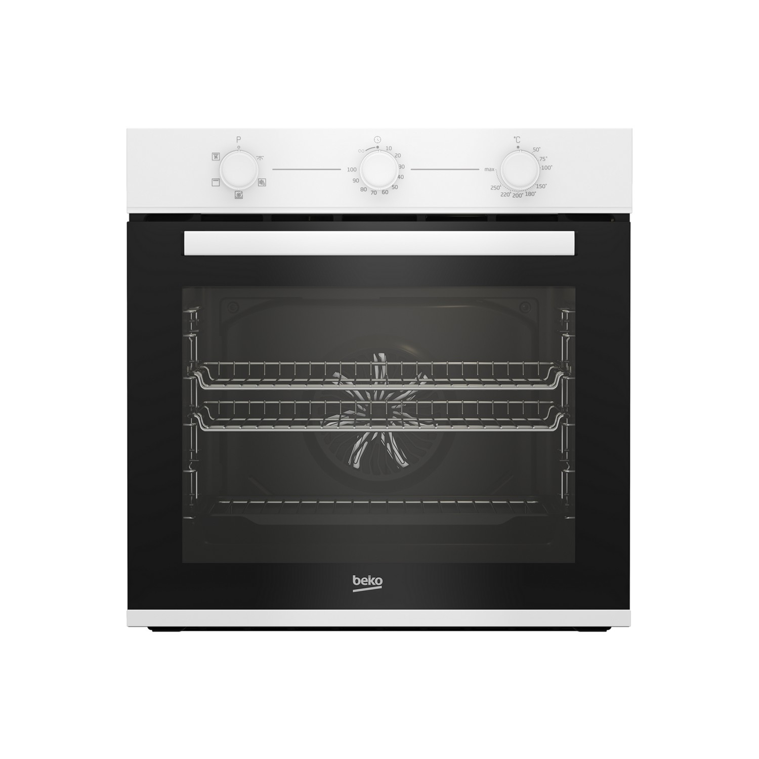 Beko AeroPerfect™ Built In Electric Single Oven - White - A Energy Rated - 0