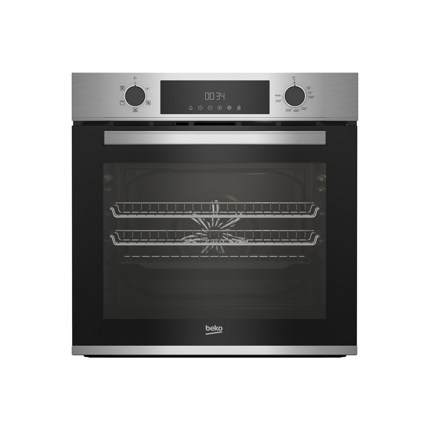 Beko CIFY81X AeroPerfect™ Built In Electric Single Oven - Stainless Steel - 0