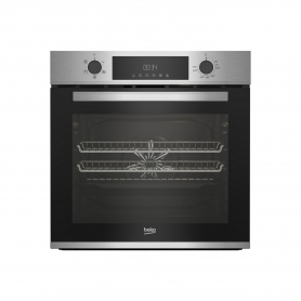 Beko AeroPerfect™ Built In Electric Single Oven - Stainless Steel - A Energy Rated