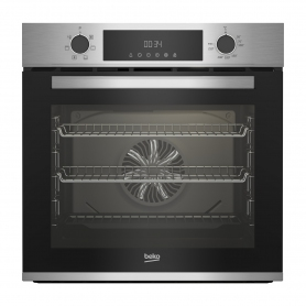 Beko AeroPerfect™ Built In Electric Single Oven - Stainless Steel