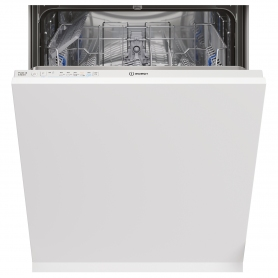 Indesit Integrated Full Size Dishwasher - White - A+ Energy Rated