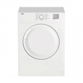 Beko 7 kg Vented Tumble Dryer - White - C Energy Rated - 0