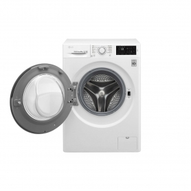 LG ELECTRONICS 8kg 1400 Inverter Direct Drive Washing Machine - BLUE WHITE - A+++ Energy Rated - 3