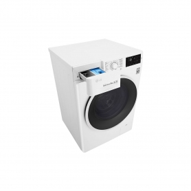 LG ELECTRONICS 8kg 1400 Inverter Direct Drive Washing Machine - BLUE WHITE - A+++ Energy Rated