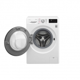LG ELECTRONICS 9kg 1400 Steam™ Washing Machine - BLUE WHITE - A+++-20% Energy Rated - 3