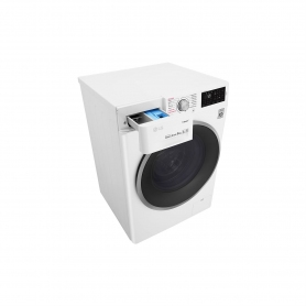 LG ELECTRONICS 9kg 1400 Steam™ Washing Machine - BLUE WHITE - A+++-20% Energy Rated - 2