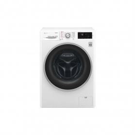 LG ELECTRONICS 9kg 1400 Steam™ Washing Machine - BLUE WHITE - A+++-20% Energy Rated