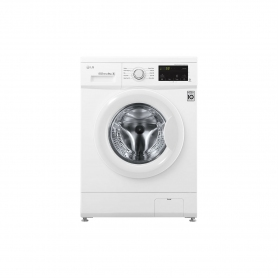 LG ELECTRONICS 8 kg 1400 Inverter Direct Drive Washing Machine - WHITE - A+++-30% Energy Rated