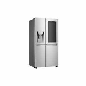 LG ELECTRONICS InstaView Door-in-Door American Style Fridge Freezer - PREMIUM STEEL - A++ Energy Rat - 4