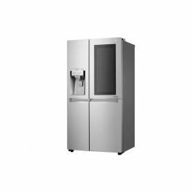 LG ELECTRONICS InstaView Door-in-Door™ American Style Fridge Freezer - PREMIUM STEEL - A++ Energy  - 4