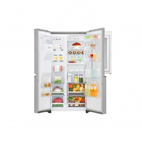 LG ELECTRONICS InstaView Door-in-Door™ American Style Fridge Freezer - PREMIUM STEEL - A++ Energy  - 3