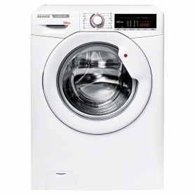 Hoover 10kg 1400 Spin Washing Machine with NFC Connection - White