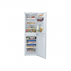 HOTPOINT HBNF 5517 W UK Frost Free Fridge Freezer - White - A+ energy rating Energy Rated - 1