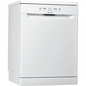 Hotpoint Full Size Dishwasher - White - 13 Place Settings