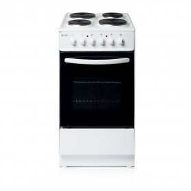 Haden 50cm Single Oven Electric Cooker - White