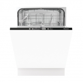 Hisense Integrated Full Size Dishwasher - White - 13 Place Settings