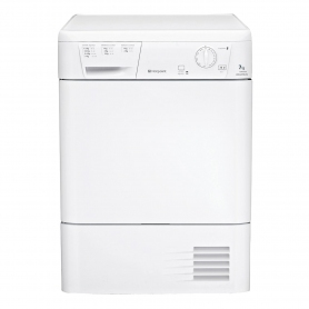 Hotpoint 7kg Condenser Tumble Dryer - White - B Rated - 3