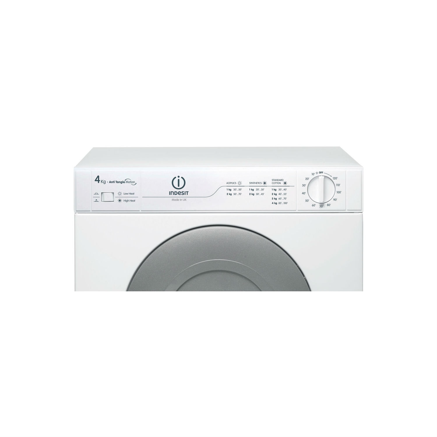 Indesit Refresh Option Vented Tumble Dryer - White - C Energy Rated - 3