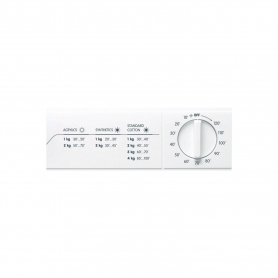 Indesit Refresh Option Vented Tumble Dryer - White - C Energy Rated - 1