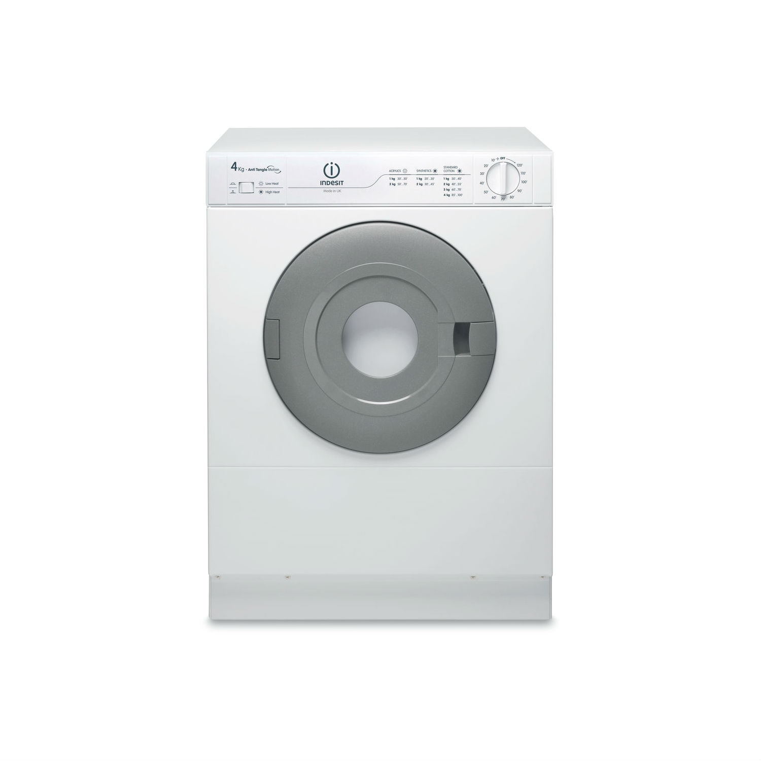 Indesit Refresh Option Vented Tumble Dryer - White - C Energy Rated - 0