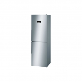 BOSCH VitaFresh Fridge Freezer - Stainless Steel look - A++ Energy Rated