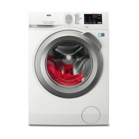 AEG 8 kg 1400 Spin Washing Machine - White / Silver door - A+++ Energy Rated - 0