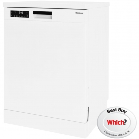 Blomberg Full Size Dishwasher - White - 14 Place Settings