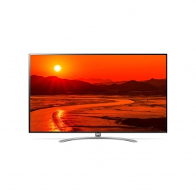 "LG 75 "" 8K Nano Cell SMART TV - web Os - Freeview HD - Freesat HD - Dark Silver & Light Silver - B Rated"