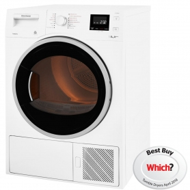 Blomberg LTH3842W 8kg Heat Pump Tumble Dryer - White - 0