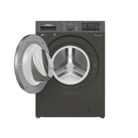 Blomberg 8kg 1400 Spin Washing Machine - Graphite - A+++ Energy Rated - 1