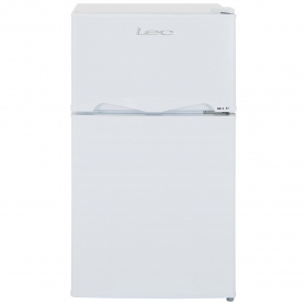 Lec 50cm Under Counter Manual-Defrost Fridge Freezer - White - A+ Rated - 4