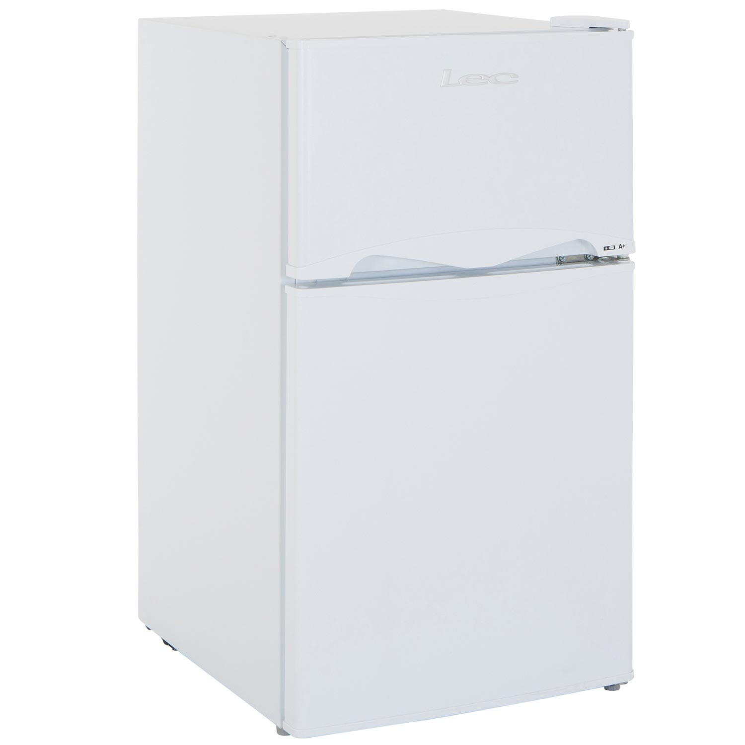 Lec 50cm Under Counter Manual-Defrost Fridge Freezer - White - A+ Rated - 1