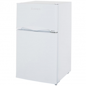 Lec 50cm Under Counter Manual-Defrost Fridge Freezer - White - A+ Rated - 2