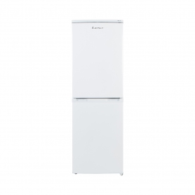 Lec 50cm Frost Free Fridge Freezer - White - A+ Rated