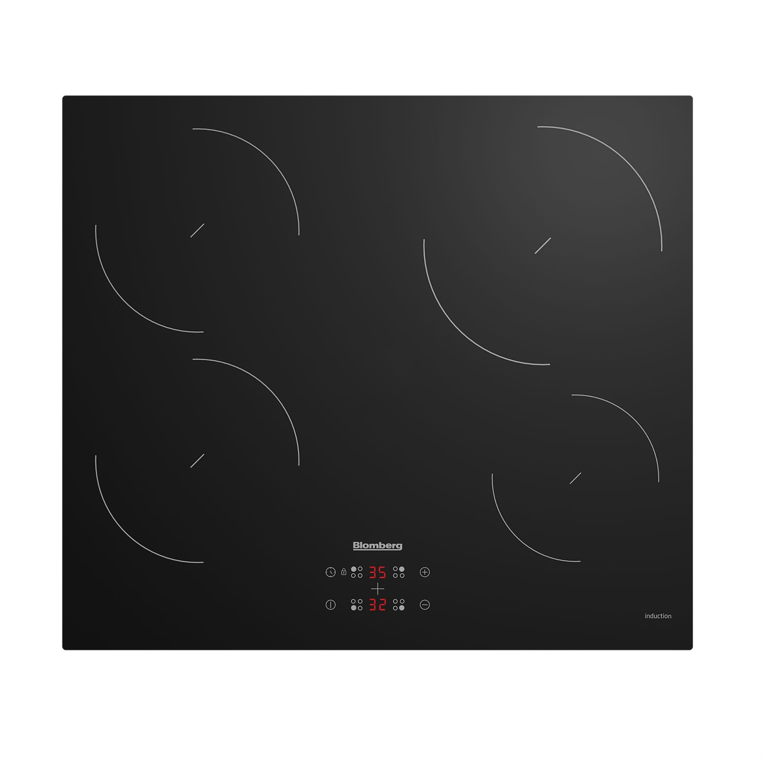 Blomberg Electric Induction Technology Hob - Black - 0
