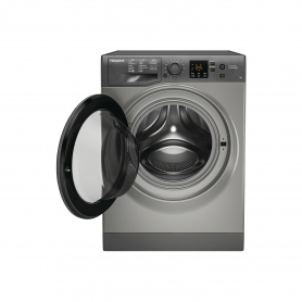 Hotpoint 7 kg 1400 Spin Washing Machine - Graphite - A+++ Energy Rated - 2