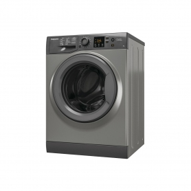 Hotpoint 7 kg 1400 Spin Washing Machine - Graphite - A+++ Energy Rated - 1