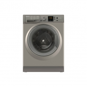 Hotpoint 7 kg 1400 Spin Washing Machine - Graphite - A+++ Energy Rated